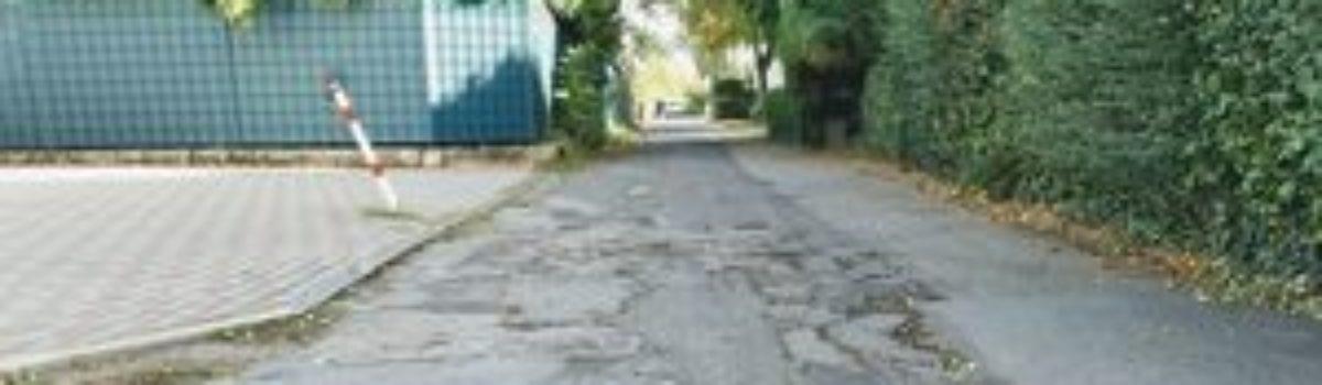Komplettsanierung der Straße Im Entenlach